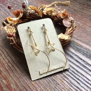 Earrings - Elegant Series / Surround Stars