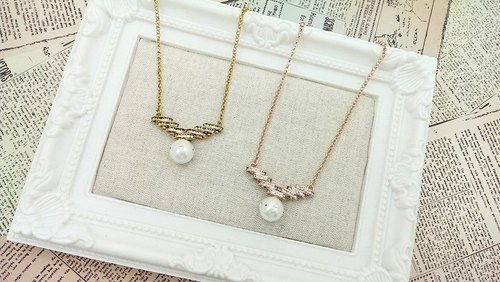 §HUKUROU Flying Sky Flying Necklace (Gold / Rose Gold)
