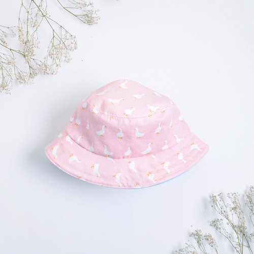Pink goslings fisherman hat