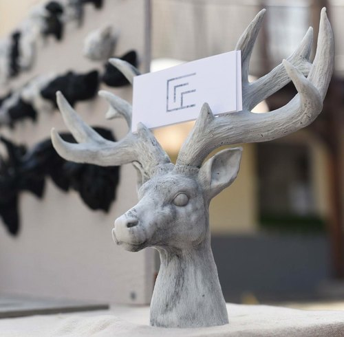 Mable。『Deer』。Glasses shelf and business card holder