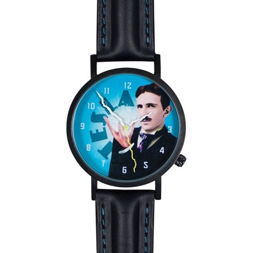 Scientists Tesla watches (neutral form)