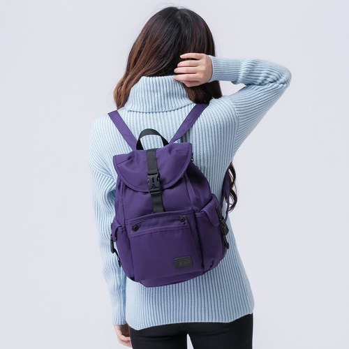 The Dude Brand Hong Kong after the body of water repellent leisure backpack small backpack ultralight Mini Mad - purple