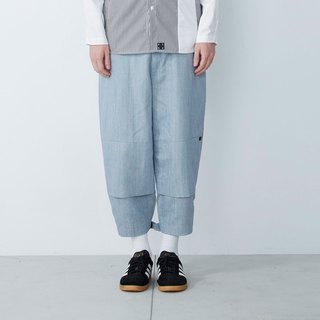 Sticky feet - Devil sticky wide pants - light blue