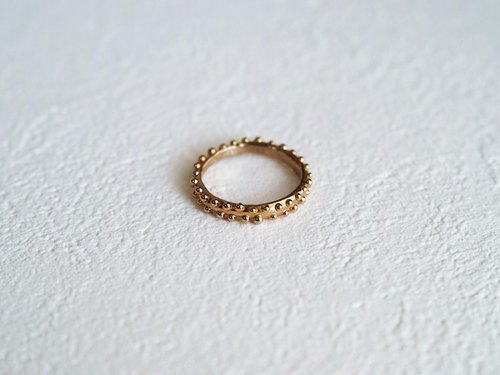 Ring with a dot -Dot Ring-