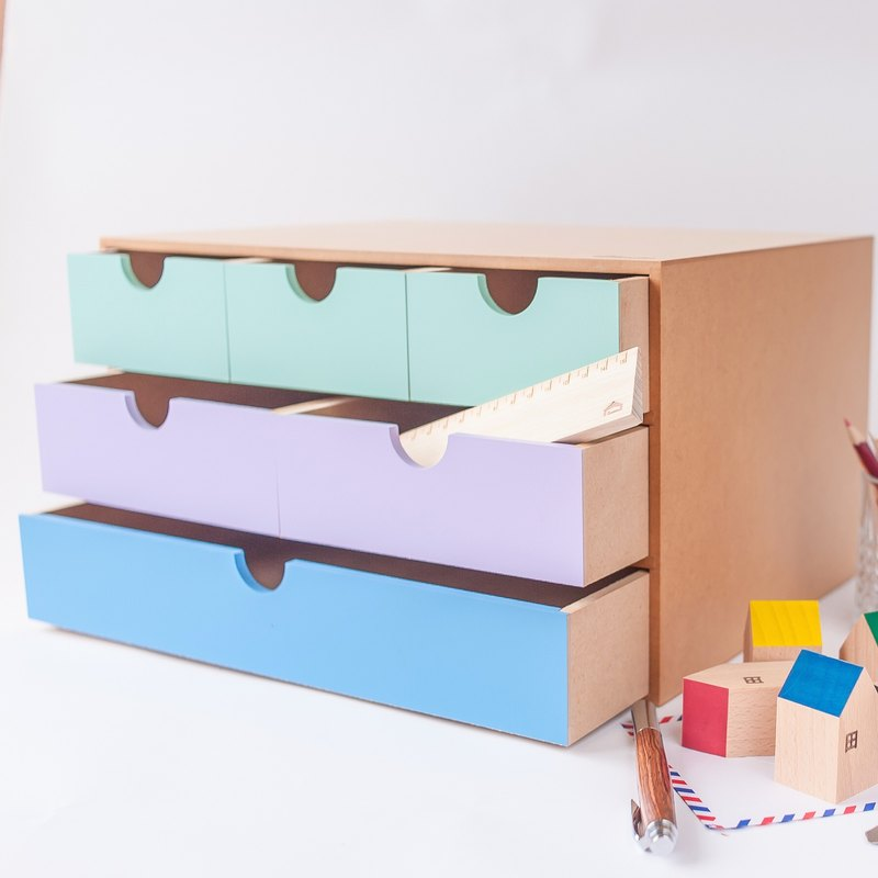 [A4 File Storage Box II] Handmade Wooden Stationery Box Storage Box Storage