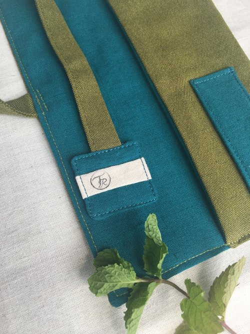 Turbid river swamp green tableware package _ _ tableware dinnerware sets chopsticks sets Bag Pouch