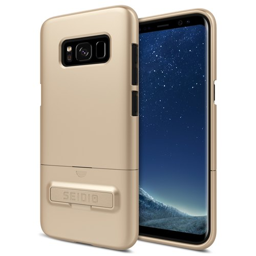 City fashion two-color protective case / phone case for S8 / S8Plus - Fashion gold-SURFACE series
