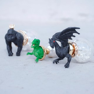 Mini Zoo- A series of ferocious animals <once upon a time*earrings>