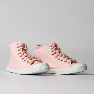 Spanish canvas shoes high tube pale pink fragrant shoes 61997 41