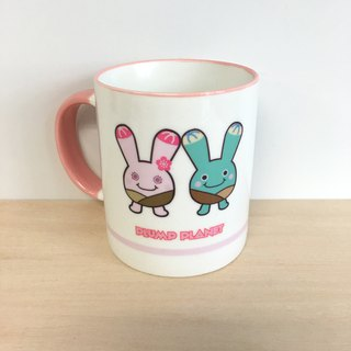 【Plump Planet Friends】Ceramic cup | Mola Ring Twin - Candy Table