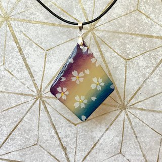 Cherry Blossoms gradation Pendant, Japanese style