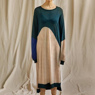 Emotional Knit Dress/ Green