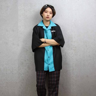 Tsubasa.Y Ancient House Bowling Shirt 013, bowling shirt, short-sleeved shirt, thin shirt