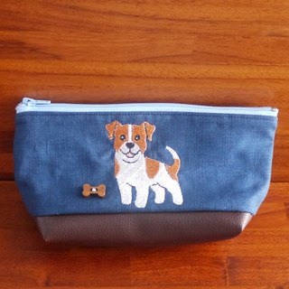 Czech Republic Russell custom embroidery pencil bag bag 10 color (free embroidered English name please note)