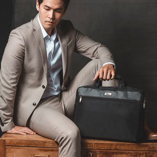 Simple waterproof business briefcase