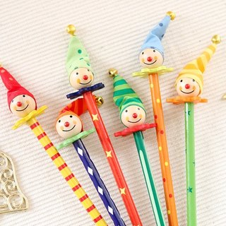 Wooden Clown Pencil