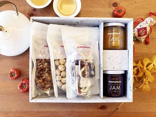 Spring Chicken Jam nuts Annunciation gift
