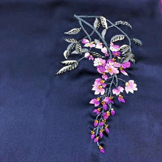 Elegant Double sides Silk scarf【Birthday Gift】【pink】【navy】【Wedding silk scarf】