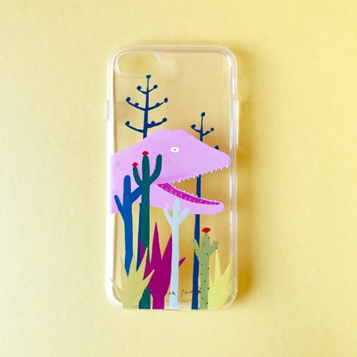 Cacti Garden | iPhone case (soft)