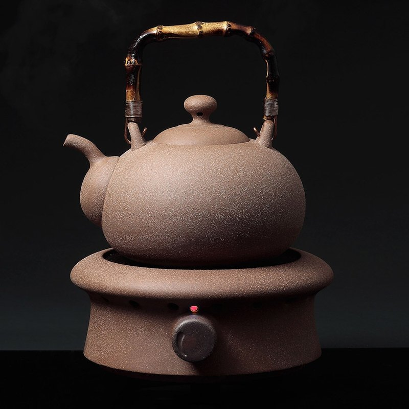 Pottery workshop │ one type of kettle electric ceramic tea stove group (excluding wooden cabinet)