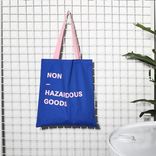 | 068 | NON HAZARDOUS GOODS fight color shoulder bag canvas bag environmental protection bag