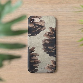 Pine cones iphone case สำหรับ iphone7 iphone8, iphone8 plus ,iphonex
