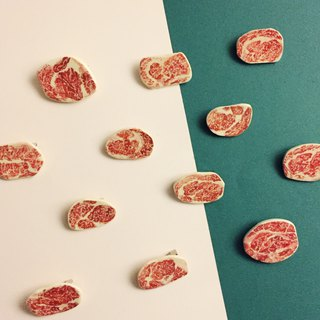 Heart meat pin 6 pieces free shipping