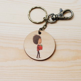 Key ring - happiness yourself