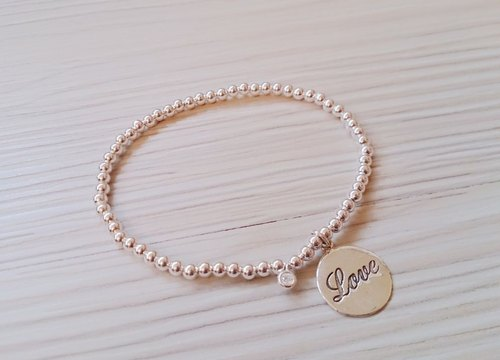 925 sterling silver bracelets happiness limited edition bracelet simple licensing round