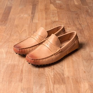 Vanger whispered Yashi Penny Beanie Loafers Va249 Brown