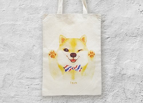 I package mountain package package package wind canvas bag -A3. Chai dog