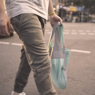 Reflective Notabag - Mint