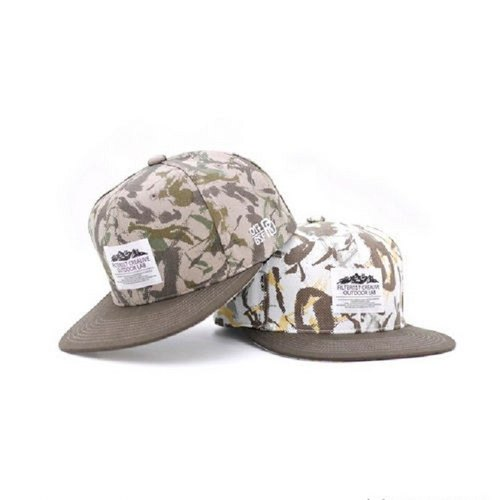 Filter017 Splash-ink Camo Snapback Cap / 潑墨迷彩棒球帽