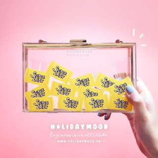 Transparent Candy Box Box Clutch