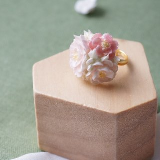 Bouquet Ring =Flower Piping= Customizable