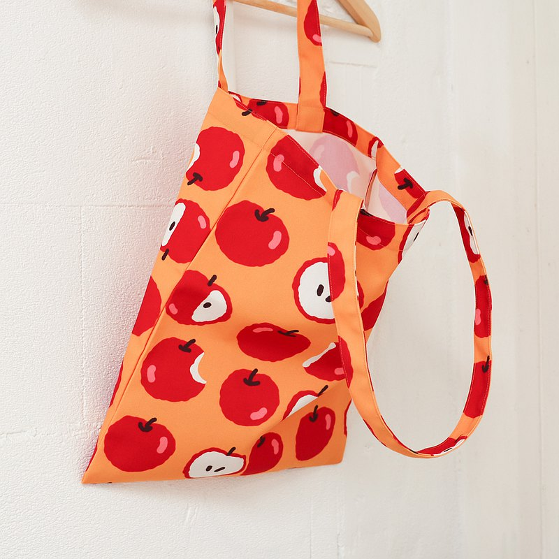 Canvas tote - Caramel apple