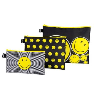 LOQI three into the pouch / smile ZPSMSP