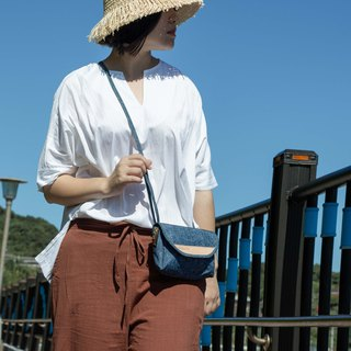 【Portable Walking Bag】DYDASH x Portable Bag/ Walking Bag/ Made In Taiwan/ Hand Made (Cowboy)