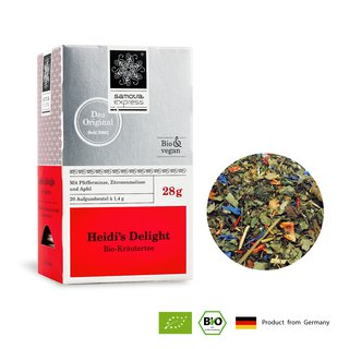 Organic Fresh Herbal Tea Lohas Heidi | Express Tea Bags 20 In