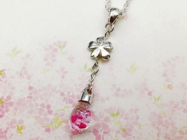 Cherry drop pendant mini