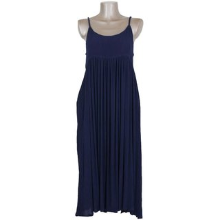 Adult refreshing dress! Island camisole dress <navy>