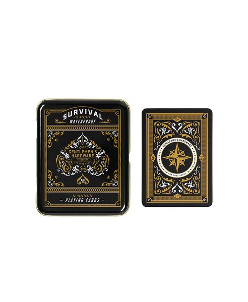 SUSS-UK Gentleman's Hardware Retro Industrial Style Field Life Waterproof Plastic Poker Set - Gift Free Shipping