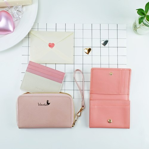 ♥Goody Bag♥: special price 3 genuine leather mini wallets