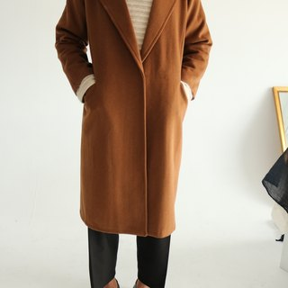 Lorenzo Coat Caramel Wool Suit Coat (can be customized for other colors)