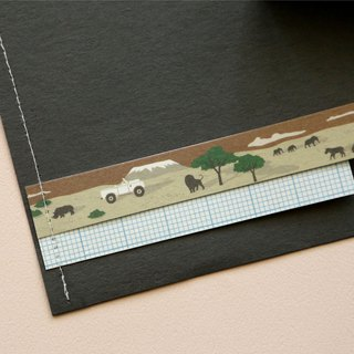 Single roll of paper tape -125 African hunting tour, E2D14308