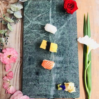 Marble Sushi Plate / Chopping Board / Cutting Vegetable Board