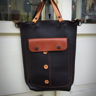 Nora Portable Covered Tote Bag
