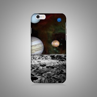 Empty shell series - Planet (right) Original mobile phone case / protective cover (hard shell)