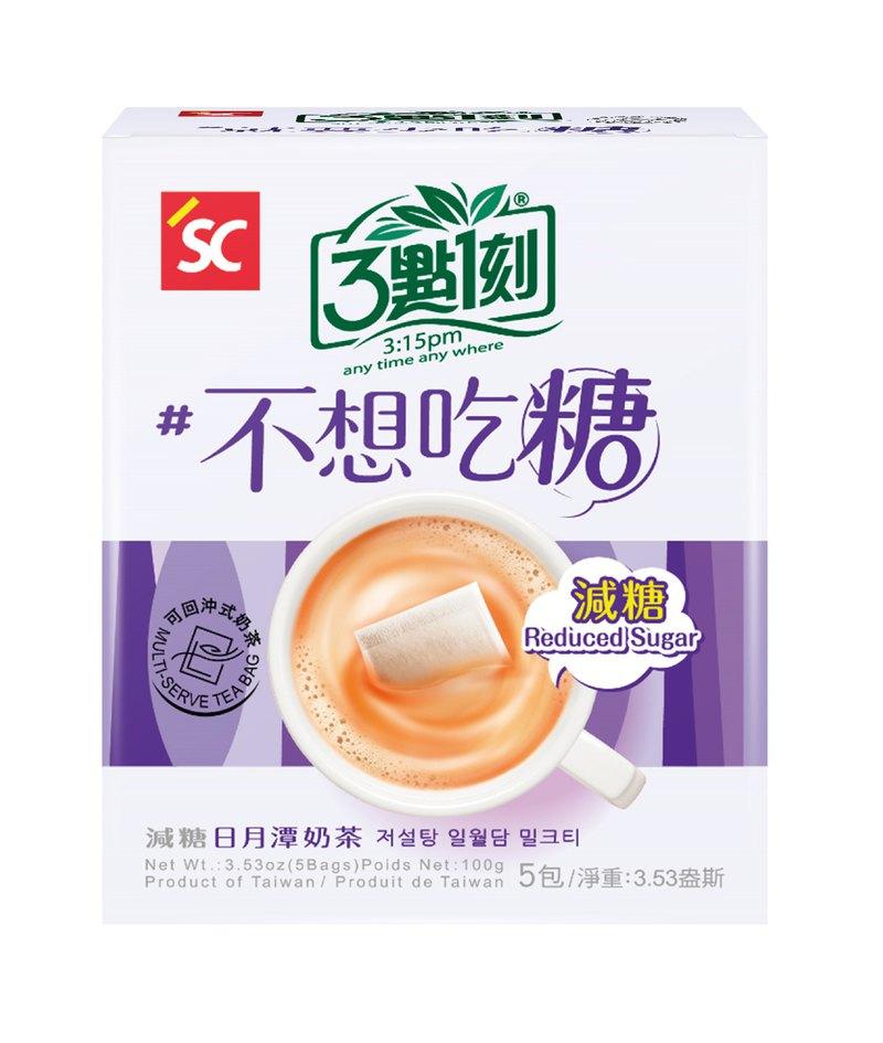 【3點1刻】減糖日月潭奶茶 5入/盒