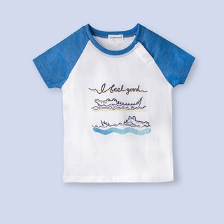 Easy crocodile T-shirt/short T